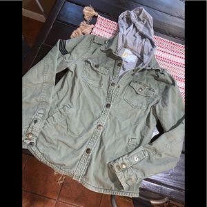 O'Neil utility jacket with hood small